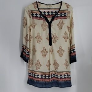 Lucky Brand,  Women's Tunic Shirt, Size XS